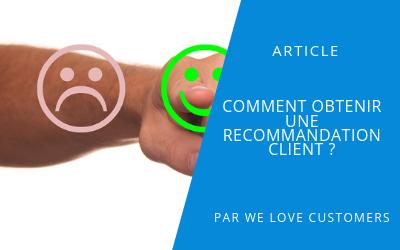 Mise en avant article invité recommandation client
