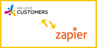 Zapier et We Love Customers